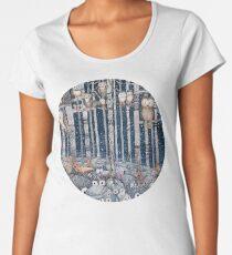 Owl Forest Women's Premium T-Shirt