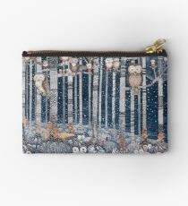 Owl Forest Studio Pouch