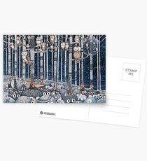 Owl Forest Postcards