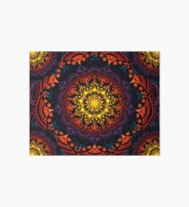'Bohemian Summer' Multi-Coloured Mandala Art Board
