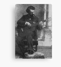 Francisco Tárrega - Brilliant Guitarist and Composer Canvas Print
