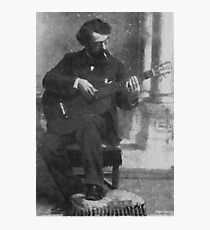 Francisco Tárrega - Brilliant Guitarist and Composer Photographic Print