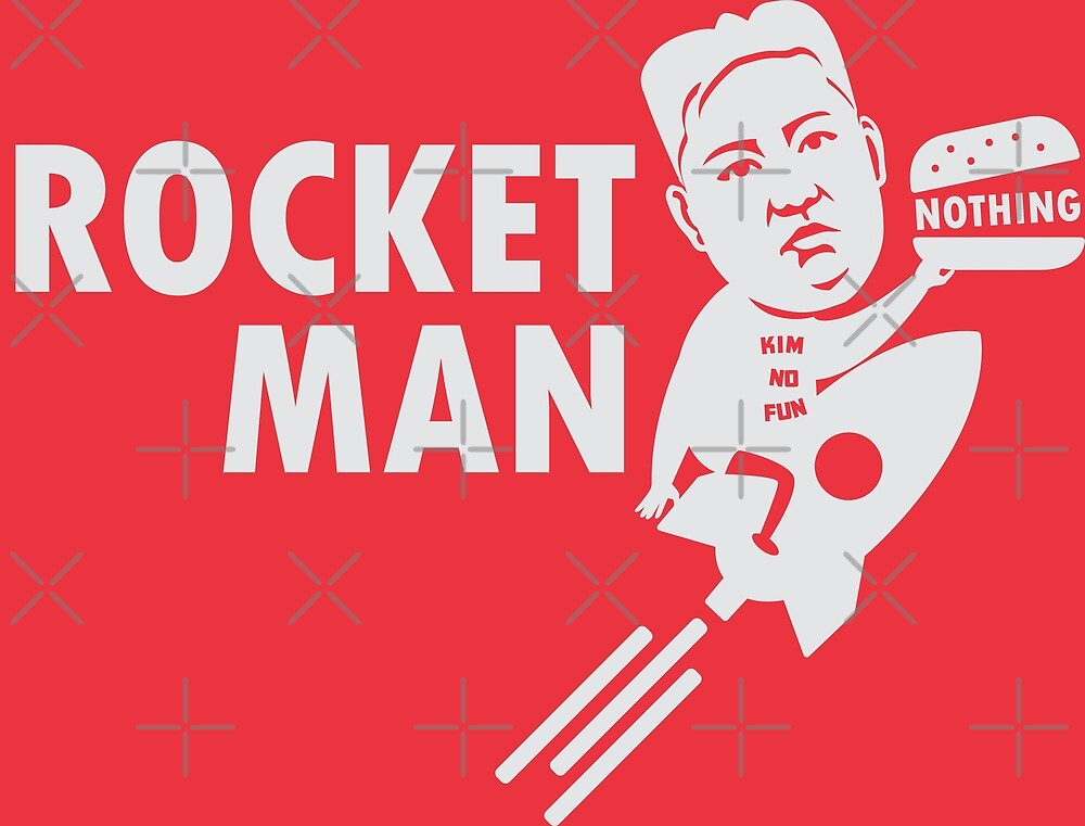 Rocket Man - Kim Jong-Un by CentipedeNation