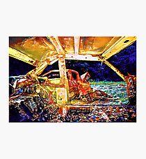 Smashed Cars #8 Photographic Print