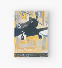 F4U Corsair carrier landing Hardcover Journal