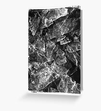 cracked Greeting Card