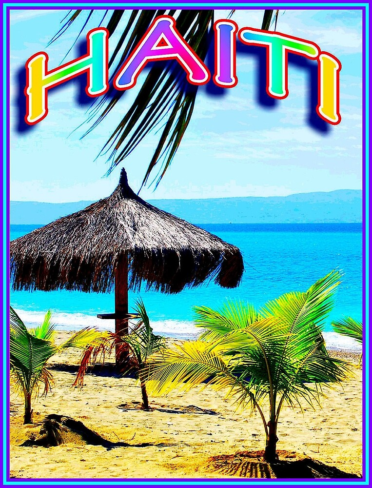 HAITI : Vintage Tourism Advertising Print by posterbobs