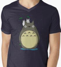 Totoro Men's V-Neck T-Shirt