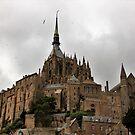 Mont Saint-Michel Church by Elena Skvortsova