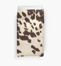 Brown Cowhide 2 Duvet Cover