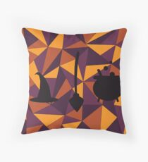 deconstructed witch  Throw Pillow