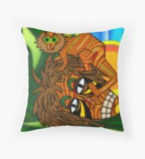 CongoJOJO Throw Pillow