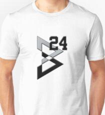 Beast Mode BM #24 Silver and Black T-Shirt