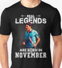 Legends are Born in November RF Tshirt T-Shirt