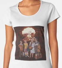 Mushroom Travel Women's Premium T-Shirt