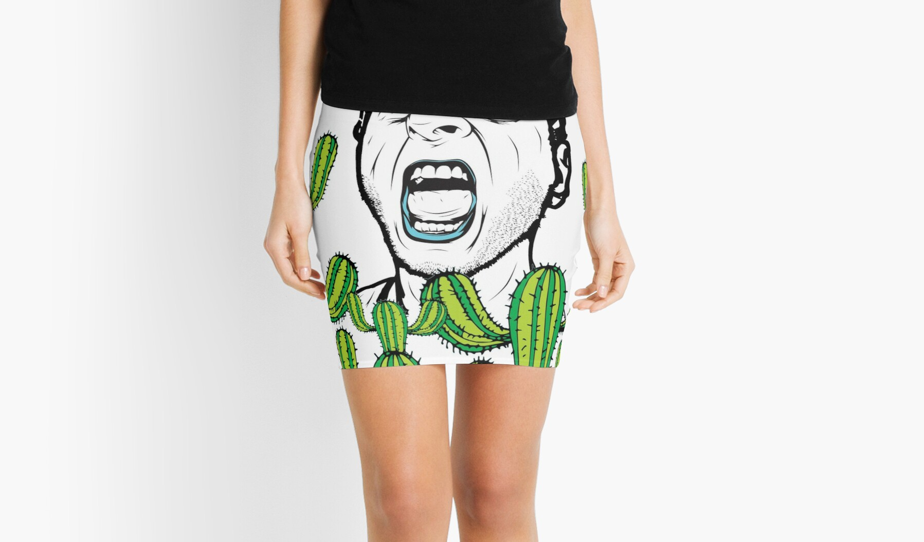 Mikes Lipstick Mini Skirts By Wevegotaband Redbubble