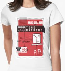 Time Machine Women's Fitted T-Shirt