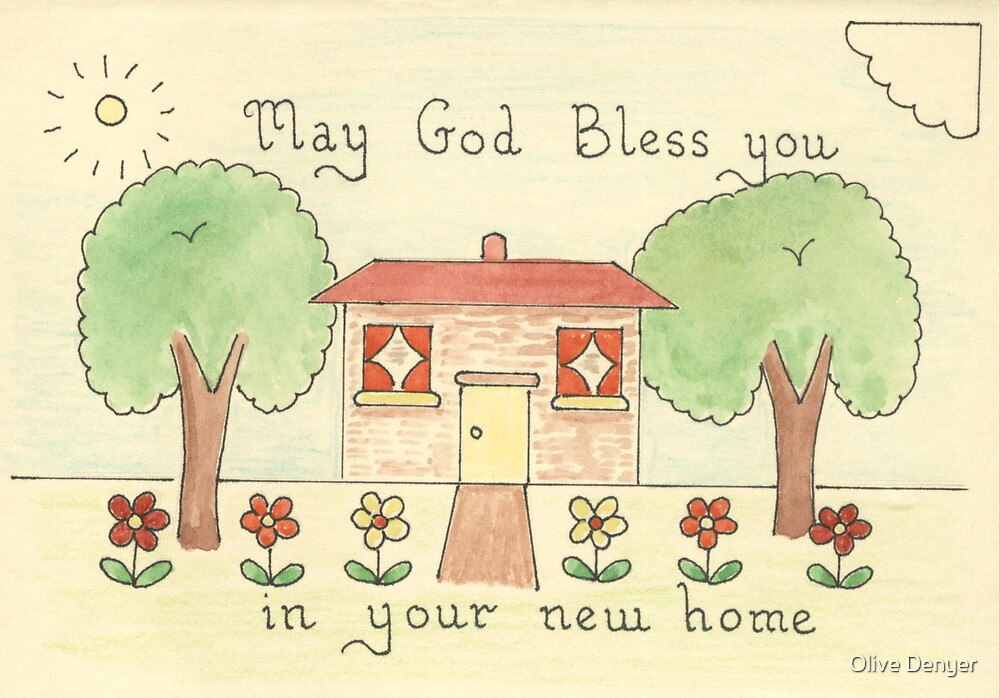 New Home Card by Olive Denyer