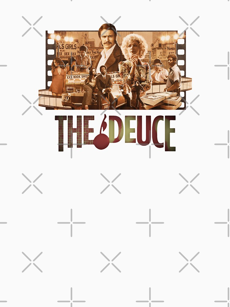 The Deuce ® James Franco T-Shirts and Merch by Halla-Merch