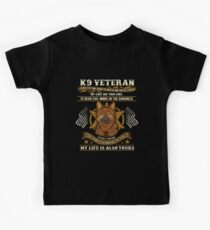 K9 Veteran My Eyes Are Yours Kids Clothes