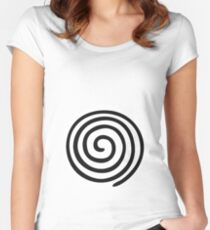 Poliwhirl Body Women's Fitted Scoop T-Shirt