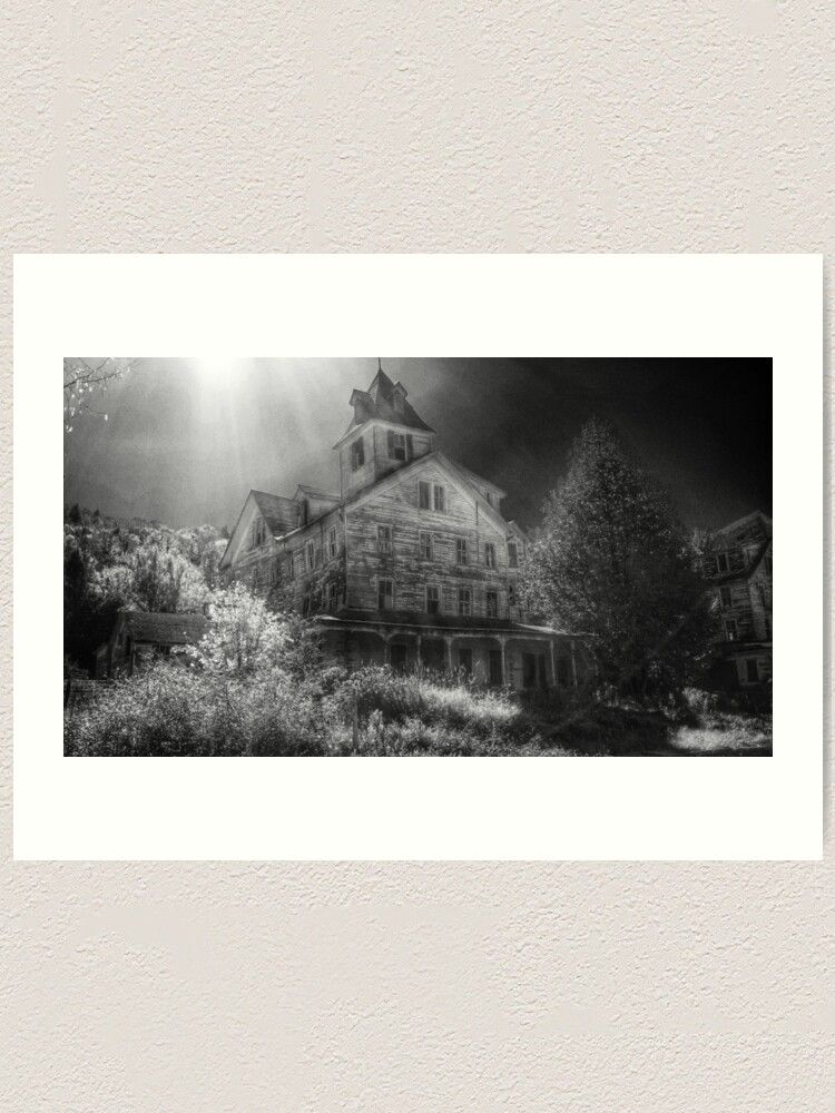 Alternate view of Cold Spring Hotel Art Print