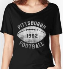 Vintage Football Shirt Women's Relaxed Fit T-Shirt