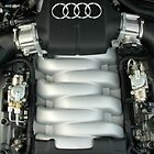Audi V10-5.2 Engine by lizdomett