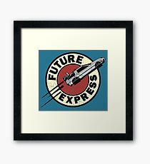 Future Express Framed Print