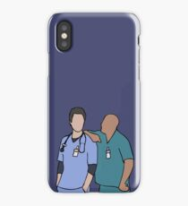 JD and Turk Scrubs iPhone Case/Skin
