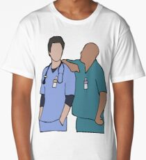 JD and Turk Scrubs Long T-Shirt