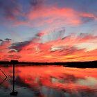 Beautiful Sunset Mobjack Bay by Timothy Gass