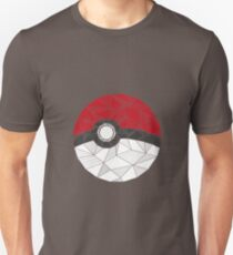Pokemon Pokeball Geometric T-Shirt