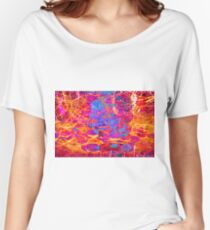 Pink blue revolution Women's Relaxed Fit T-Shirt