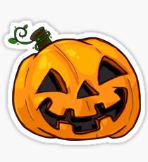 Cute Jack-o-lantern Sticker