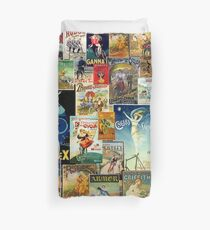 VINTAGE CYCLING Duvet Cover