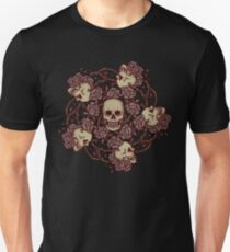 Withered Skulls and Roses T-Shirt