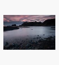 dunnottar castle sunrise Photographic Print