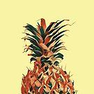 Retro pineapple by Amanda Bussio