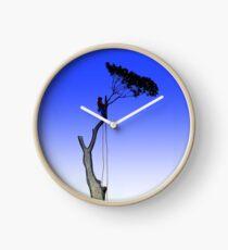 Arborist Tree Surgeon Gift present chainsaw Clock