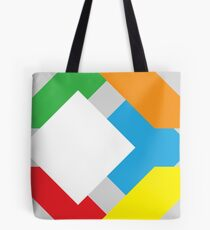 6 colors of the infamous cube Tote Bag