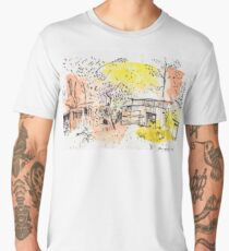 The Old Shed Out the Back Men's Premium T-Shirt