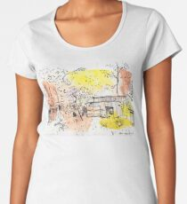 The Old Shed Out the Back Women's Premium T-Shirt