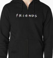 Friends Zipped Hoodie