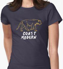 Coast Modern Animals Women's Fitted T-Shirt