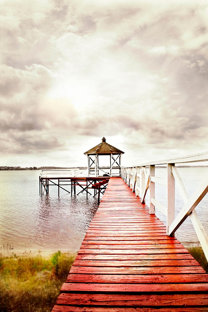 The Red Dock by apriljd