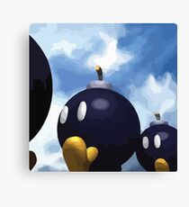 Super Mario 64 Bob-Omb Battlefield Canvas Print