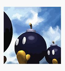 Super Mario 64 Bob-Omb Battlefield Photographic Print