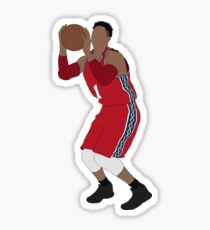D'Angelo Russell Nets Throwback Sticker
