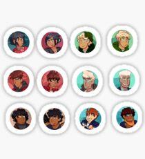 NInjago Circle Icons Sticker